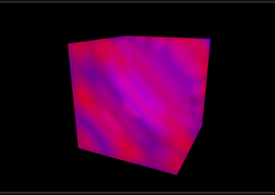Image of 3D volume rendering chart example for WPF and WinForms.