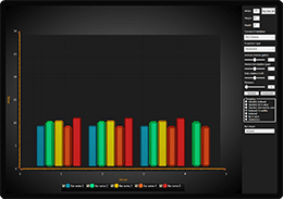3D bar chart example for WPF and WinForms